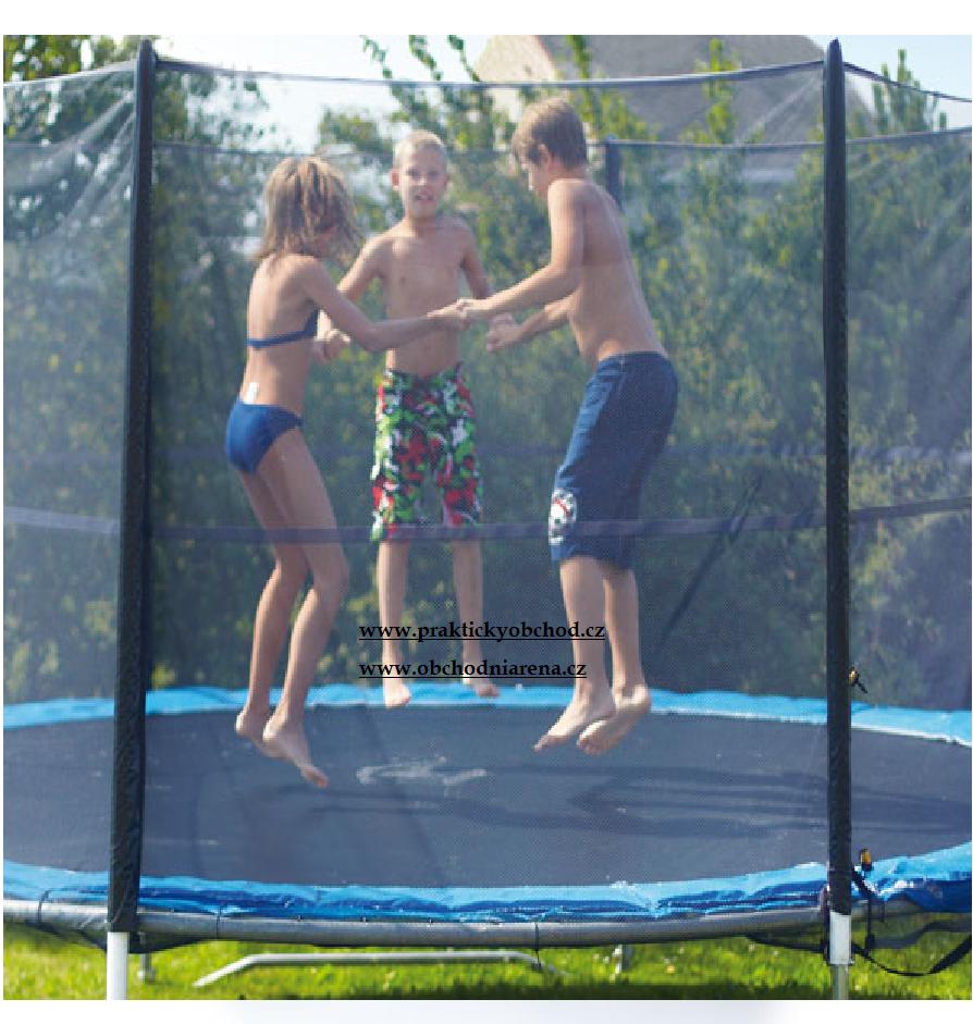 Fitness King Ochranná síť na trampolínu 180 cm