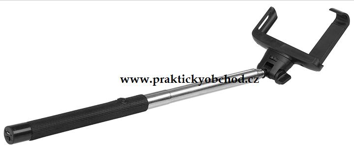 Fotografie Platinium Teleskopická selfie tyč s bluetooth ovládáním SB07