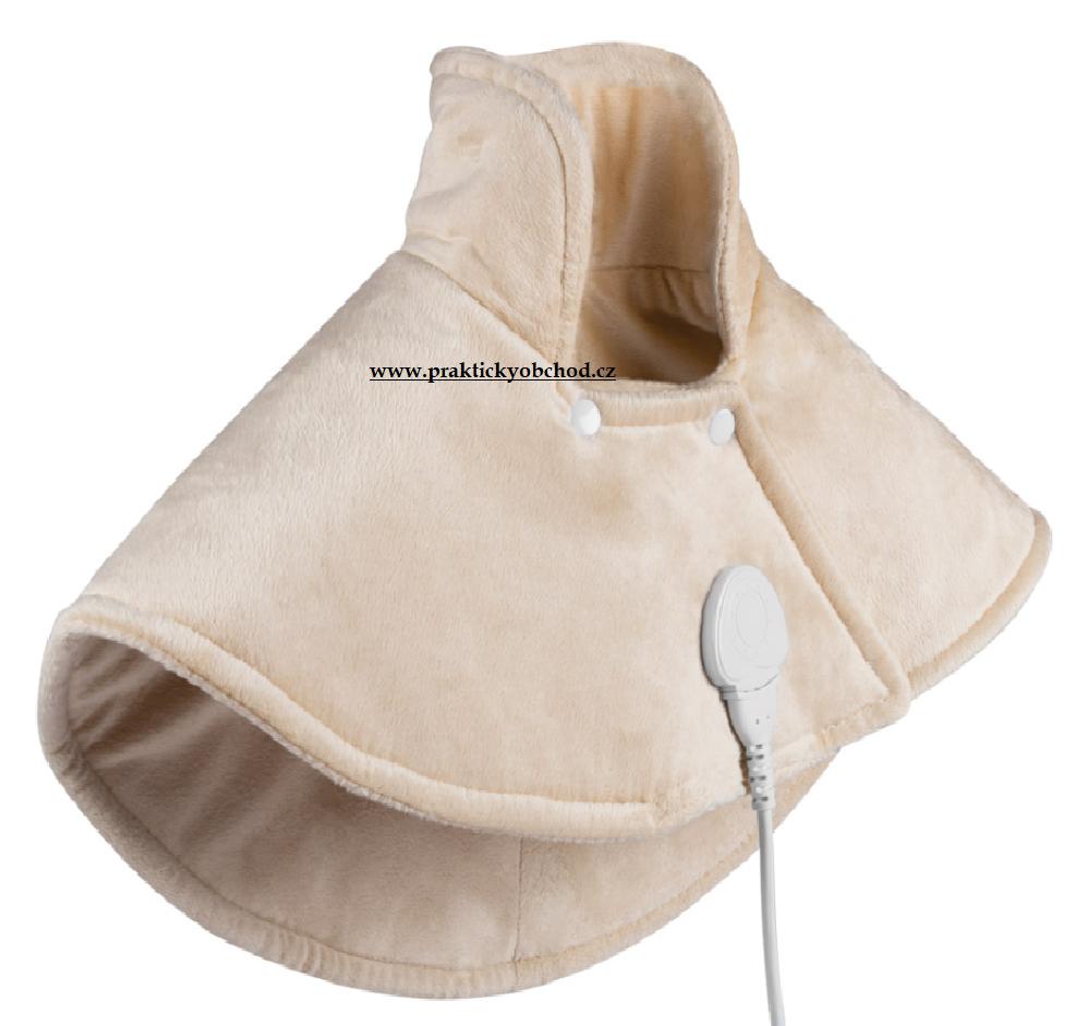 HomeLife Elektrická vyhřívaná dečka na krk a ramena SS02C