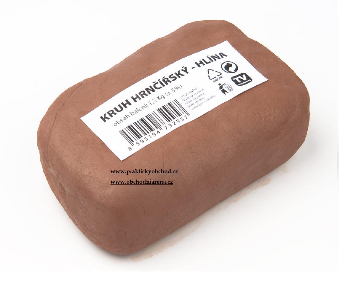 Kids World Hrnčířská hlína 1,2 kg