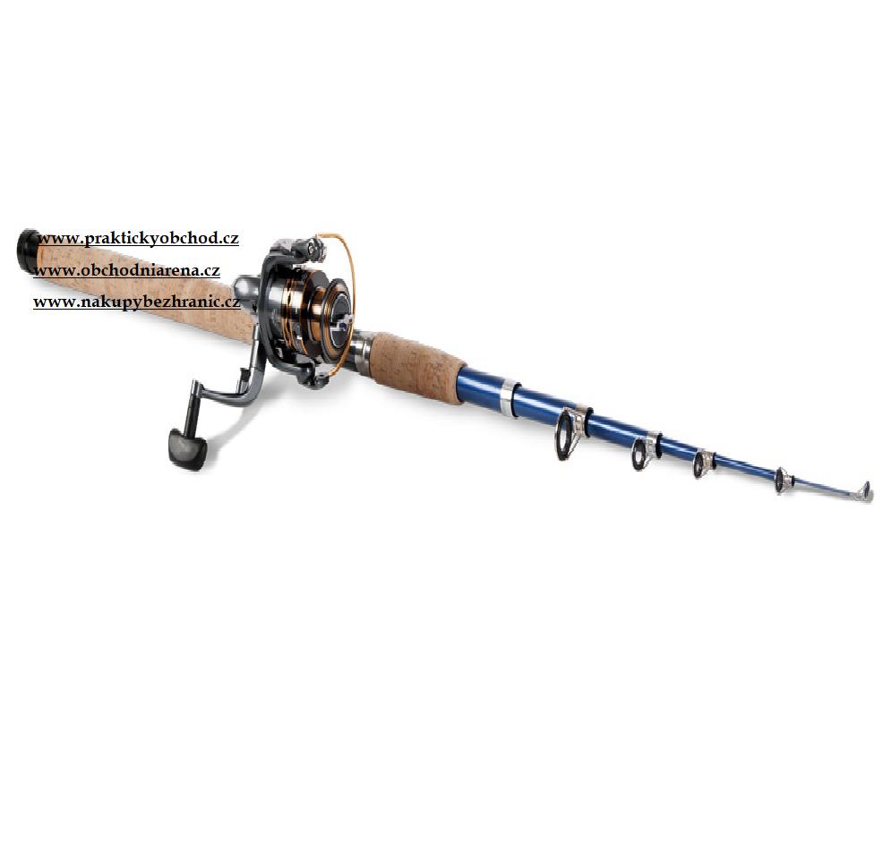 Fisherman Rybářský prut FRS-01, 6 dílů, 2.7m, 80g, naviják CS3000