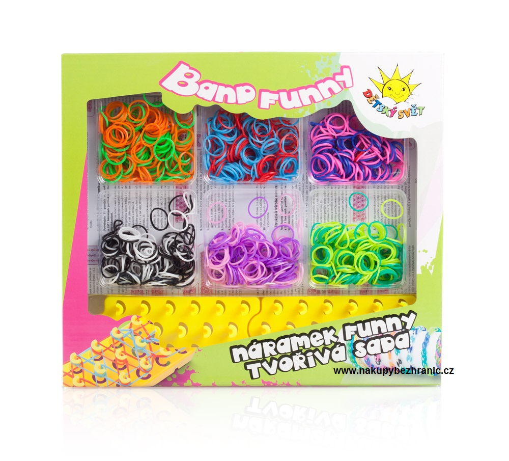 Loom bands 1200