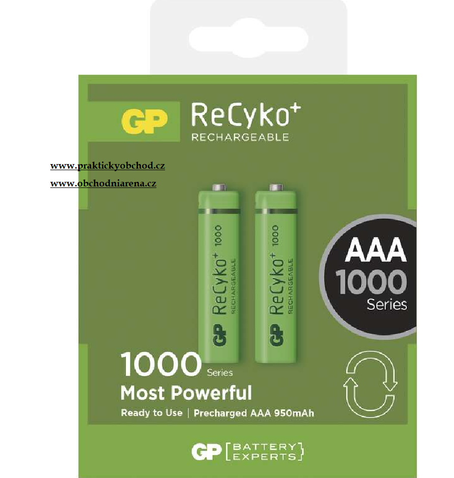 GP Batteries Baterie GP Recyko+ 2050mAh AA 2ks